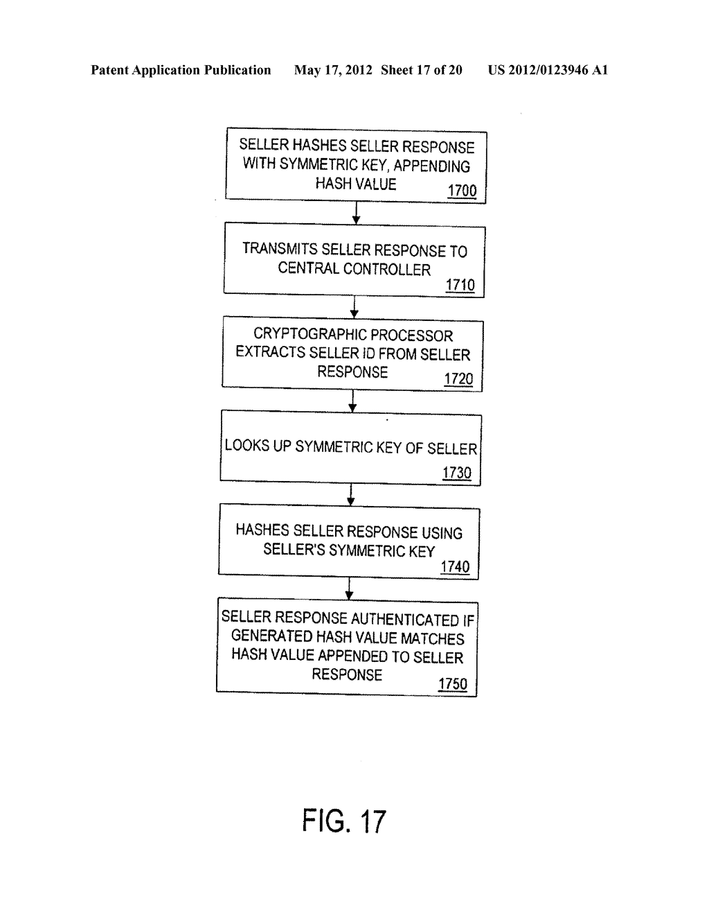 METHOD AND APPARATUS FOR A CRYPTOGRAPHICALLY ASSISTED COMMERCIAL NETWORK     SYSTEM DESIGNED TO FACILITATE BUYER-DRIVEN CONDITIONAL PURCHASE OFFERS - diagram, schematic, and image 18