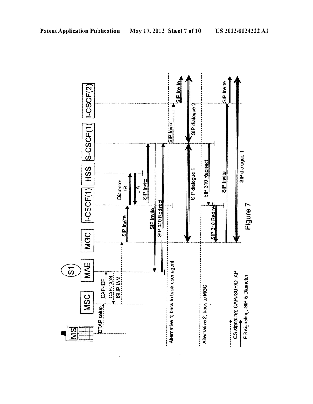 METHOD AND SYSTEM FOR TRANSFER OF CALL CONTROL - diagram, schematic, and image 08