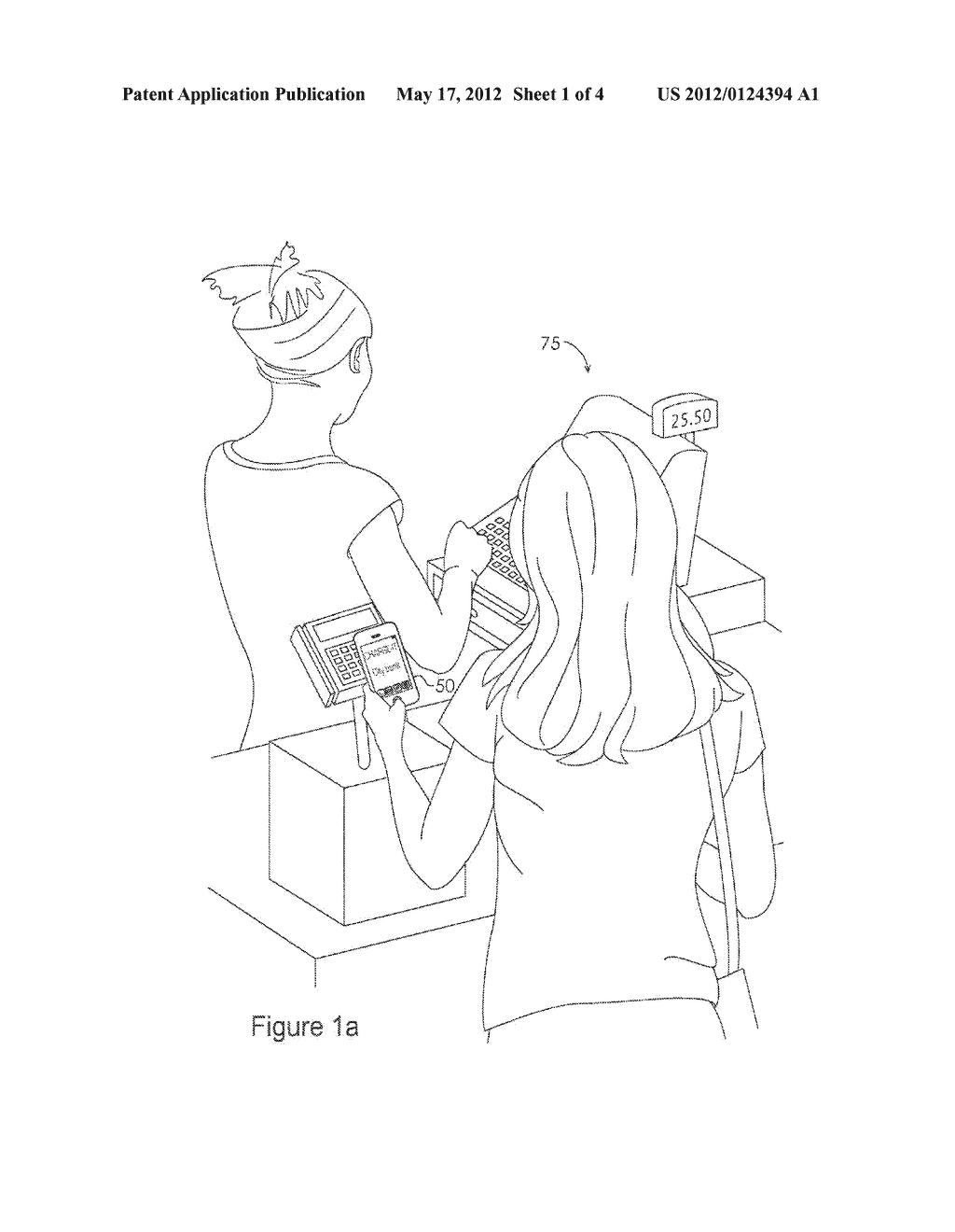 System and Method for Providing a Virtual Secure Element on a Portable     Communication Device - diagram, schematic, and image 02