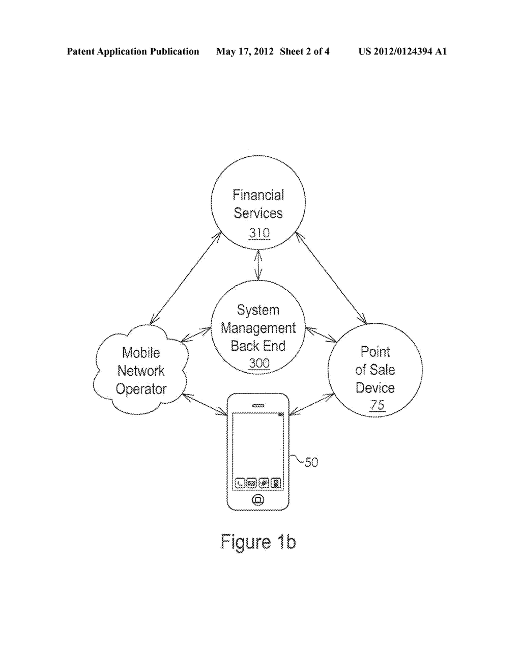 System and Method for Providing a Virtual Secure Element on a Portable     Communication Device - diagram, schematic, and image 03