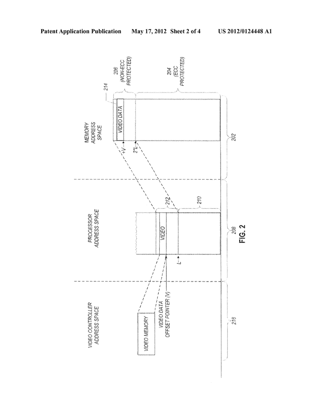 MEMORY SUBSYSTEM HAVING A FIRST PORTION TO STORE DATA WITH ERROR     CORRECTION CODE INFORMATION AND A SECOND PORTION TO STORE DATA WITHOUT     ERROR CORRECTION CODE INFORMATION - diagram, schematic, and image 03