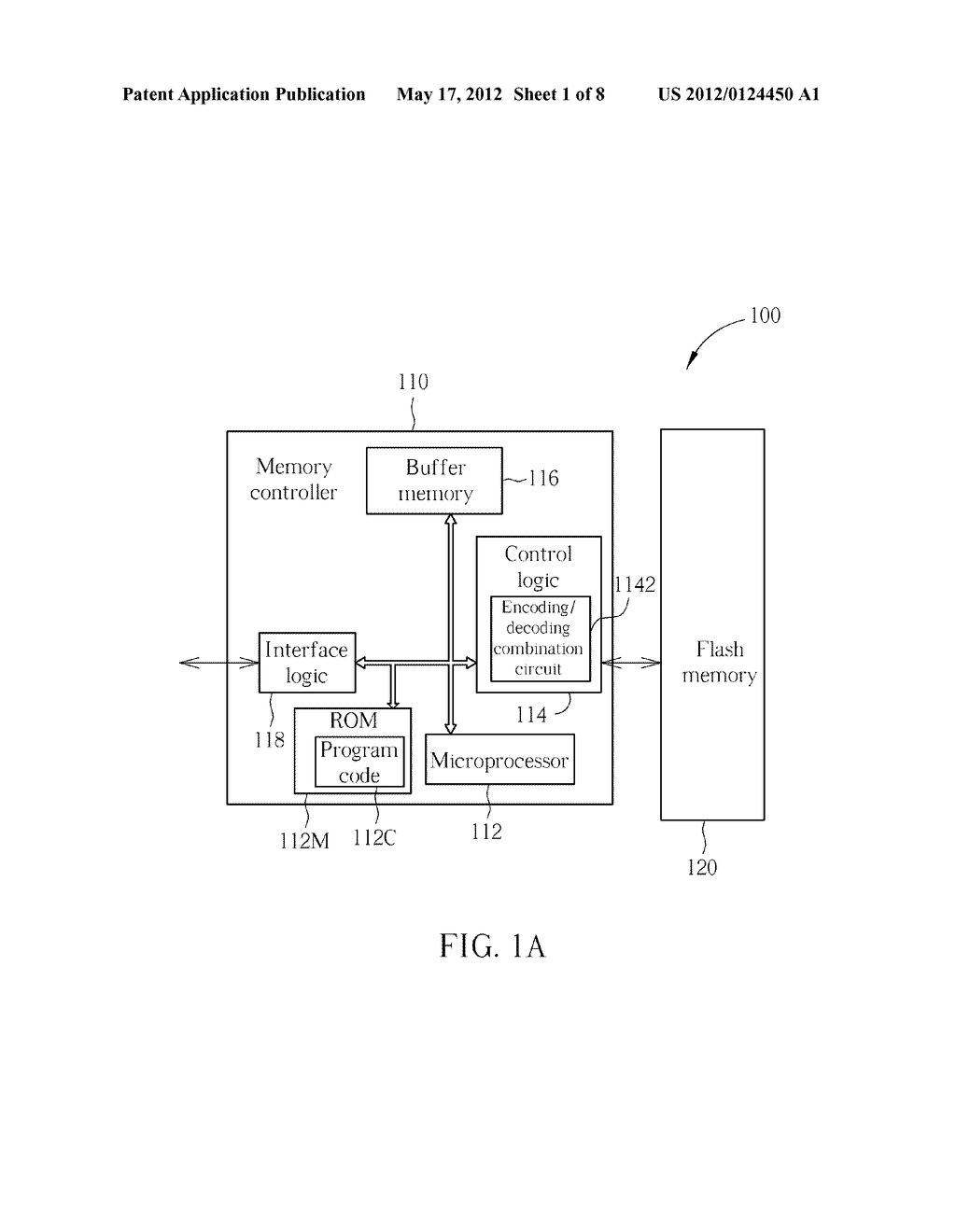 METHOD FOR ENHANCING ERROR CORRECTION CAPABILITY, AND ASSOCIATED MEMORY     DEVICE AND CONTROLLER THEREOF - diagram, schematic, and image 02