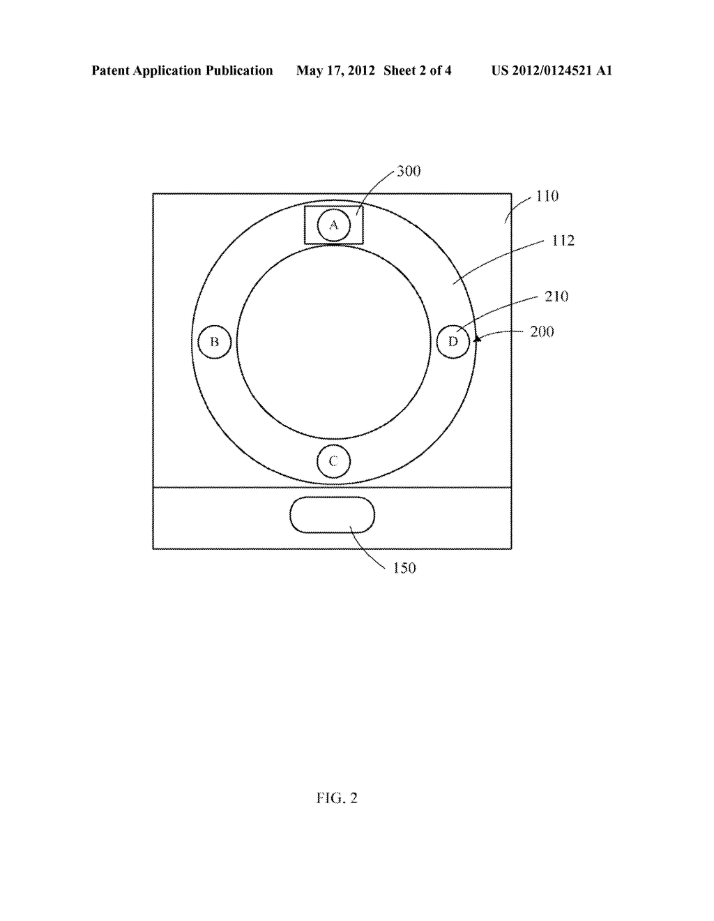 ELECTRONIC DEVICE HAVING MENU AND DISPLAY CONTROL METHOD THEREOF - diagram, schematic, and image 03