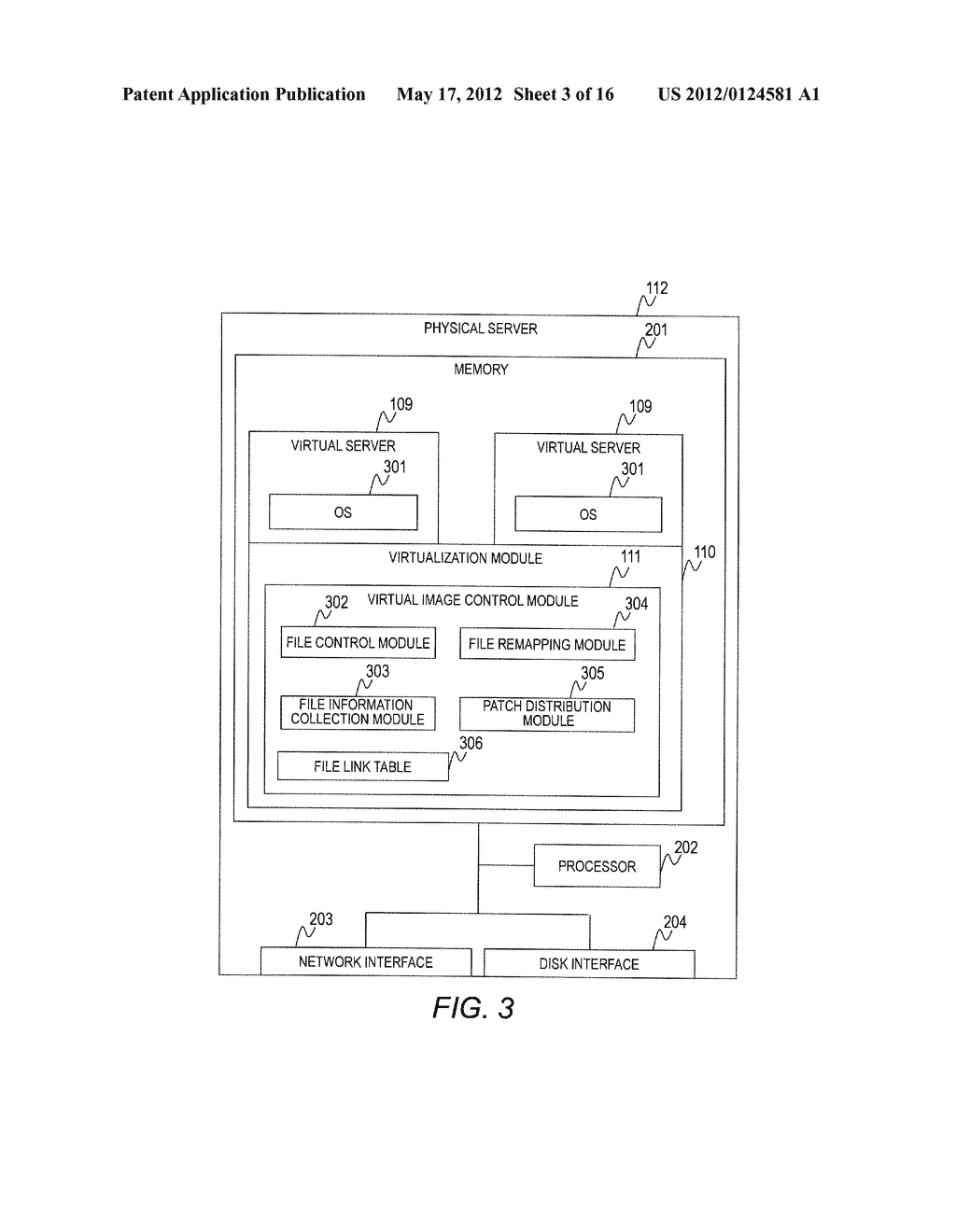 VIRTUAL COMPUTER SYSTEM AND CONTROL METHOD OF VIRTUAL COMPUTER SYSTEM - diagram, schematic, and image 04