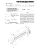 SYSTEM FOR PRODUCING COMPOSITE BEAMS AND FLOOR STRUCTURES OF BUILDINGS BY     MEANS OF BENT SECTIONS MADE OF STEEL AND ANOTHER MATERIAL ATTACHED BY     MEANS OF CONNECTORS FORMED IN THE SECTION MADE OF STEEL diagram and image