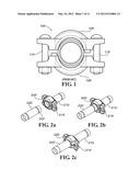 SLIP ON GROOVE COUPLING WITH MULTIPLE SEALING GASKET diagram and image