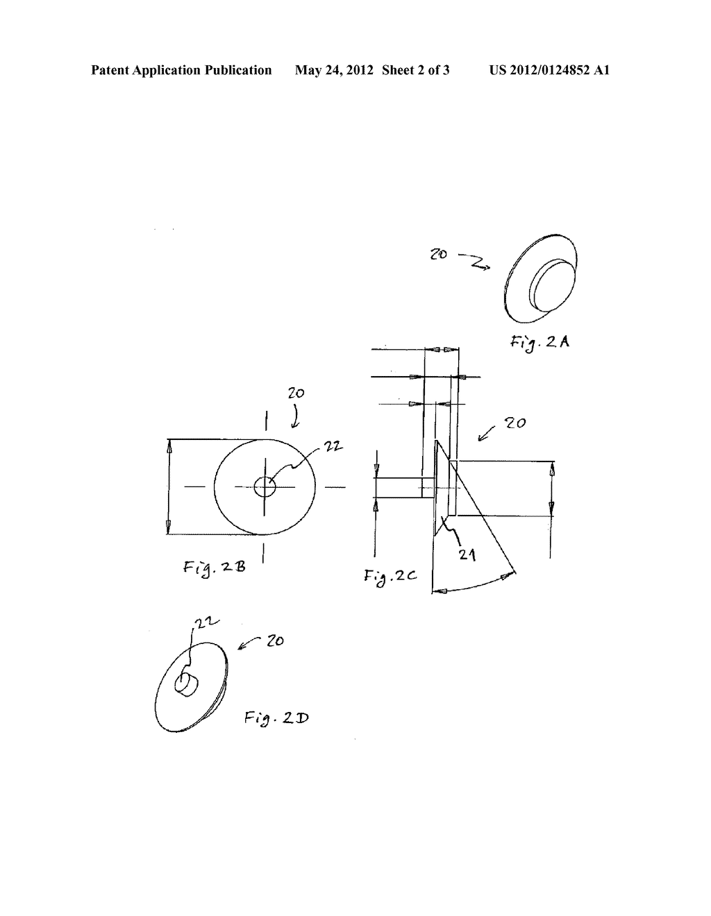 Spacer for Placing Retroreflectors of Varying Sizes on a Standard Drill     Adapter - diagram, schematic, and image 03