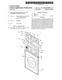 Messaging Sign Having Plates and Reversible Locking System diagram and image