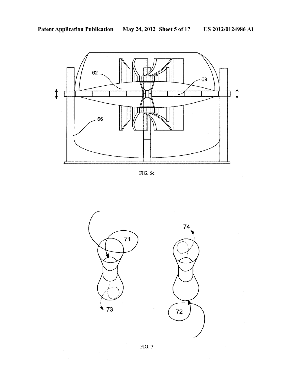 Bidirectional Axial Flow Turbine With Self Pivoting Blades For Use Jet Engine Diagram Of An Axialflow In Wave Energy Converter Schematic And Image 06
