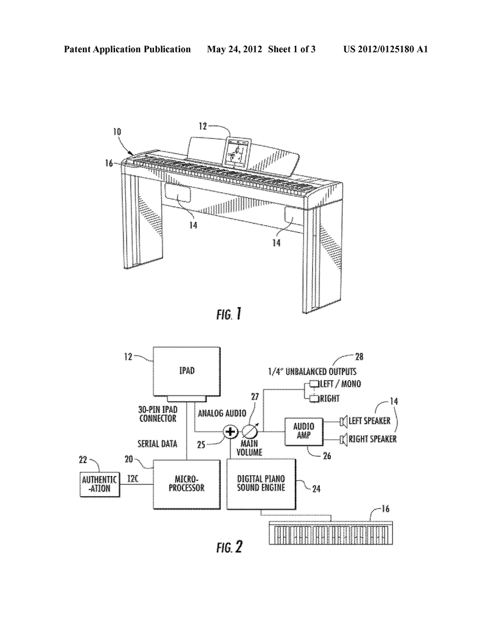 Digital piano with dock for a handheld computing device diagram digital piano with dock for a handheld computing device diagram schematic and image 02 pooptronica