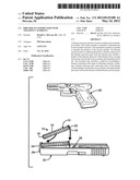 Firearm accessory part with tracking capability diagram and image
