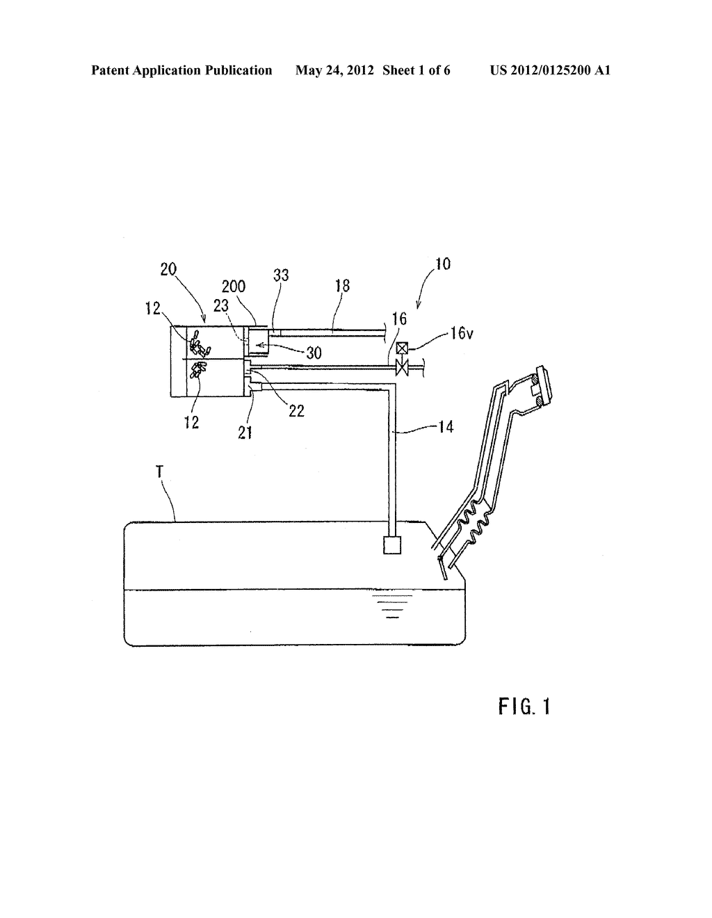 APPARATUS HAVING A CANISTER AND A COMPONENT ASSOCIATED WITH THE CANISTER - diagram, schematic, and image 02