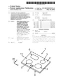 COVER PLATE FOR A DOMESTIC APPLIANCE, SAID COVER PLATE HAVING AT LEAST ONE     SEMI-TRANSPARENT SUPPORT PLATE, DOMESTIC APPLIANCE FOR PREPARING FOOD AND     METHOD FOR PRODUCING A COVER PLATE FOR A DOMESTIC APPLIANCE diagram and image
