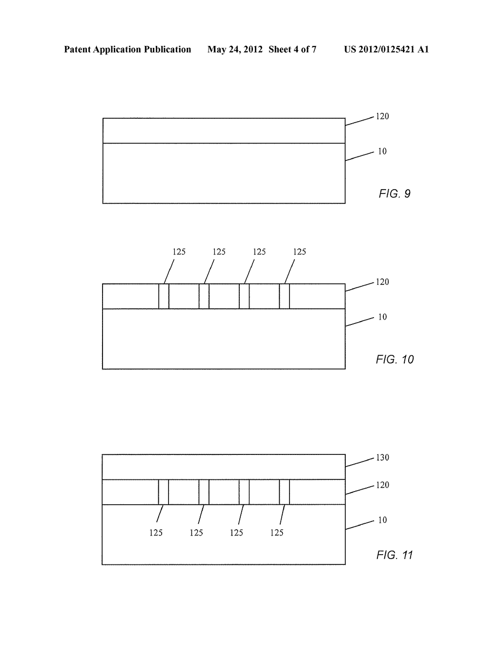 LOW COST SOLAR CELL MANUFACTURE METHOD EMPLOYING A REUSABLE SUBSTRATE - diagram, schematic, and image 05