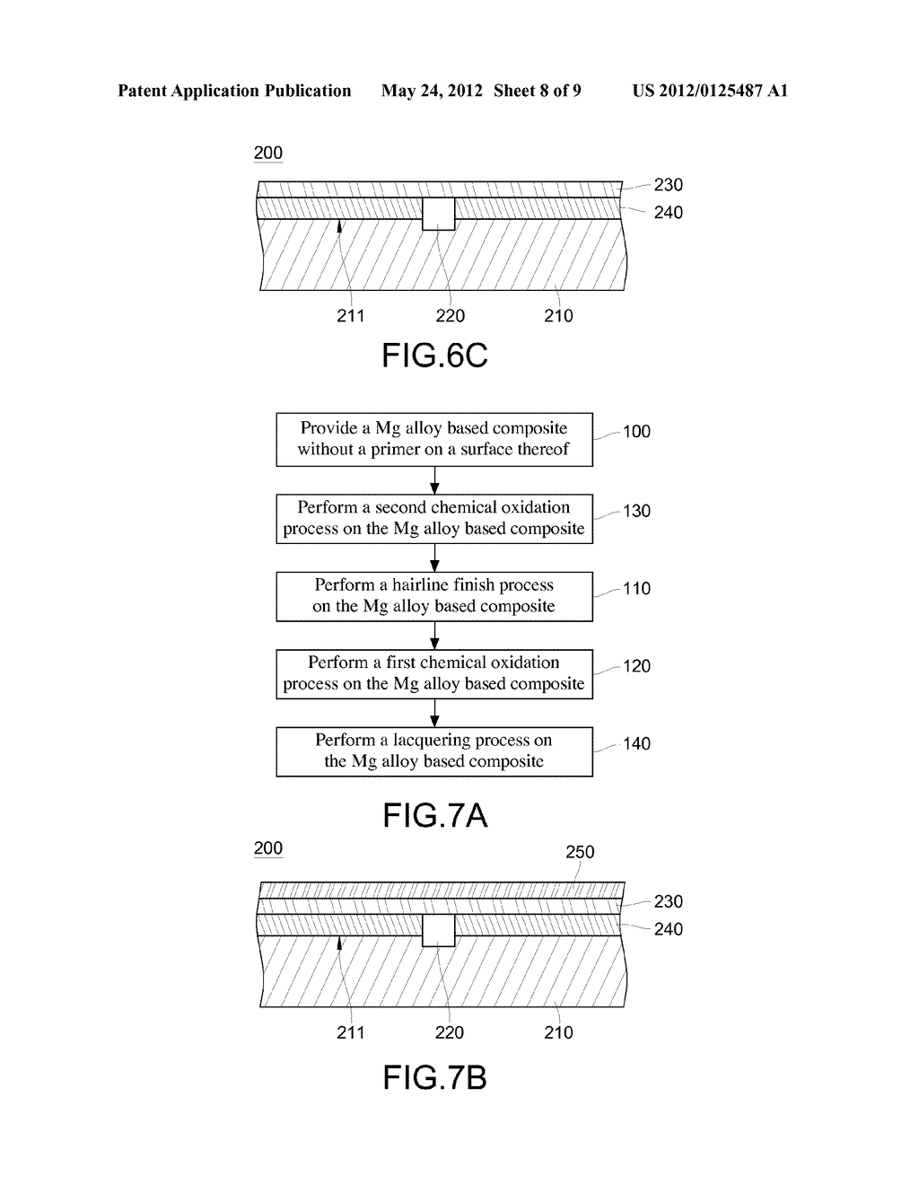 SURFACE TREATMENT METHOD OF MAGNESIUM ALLOY ARTICLE AND STRUCTURE THEREOF - diagram, schematic, and image 09