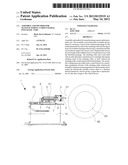 ASSEMBLY AND METHOD FOR MANUFACTURING A GREEN RADIAL PNEUMATIC TYRE diagram and image
