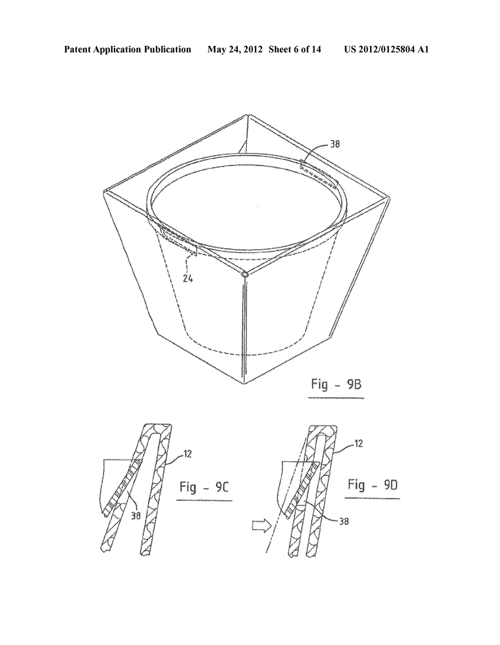 FOLDABLE PACKAGING CONTAINER - diagram, schematic, and image 07