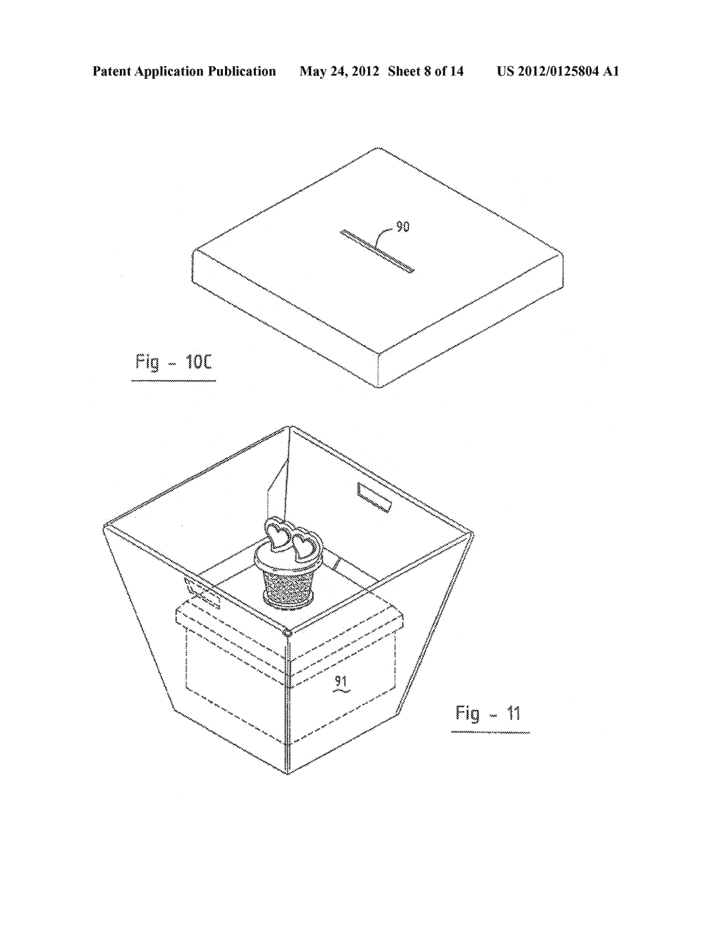 FOLDABLE PACKAGING CONTAINER - diagram, schematic, and image 09