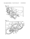 HITCH MOUNTED BICYCLE RACKS FOR VEHICLES diagram and image