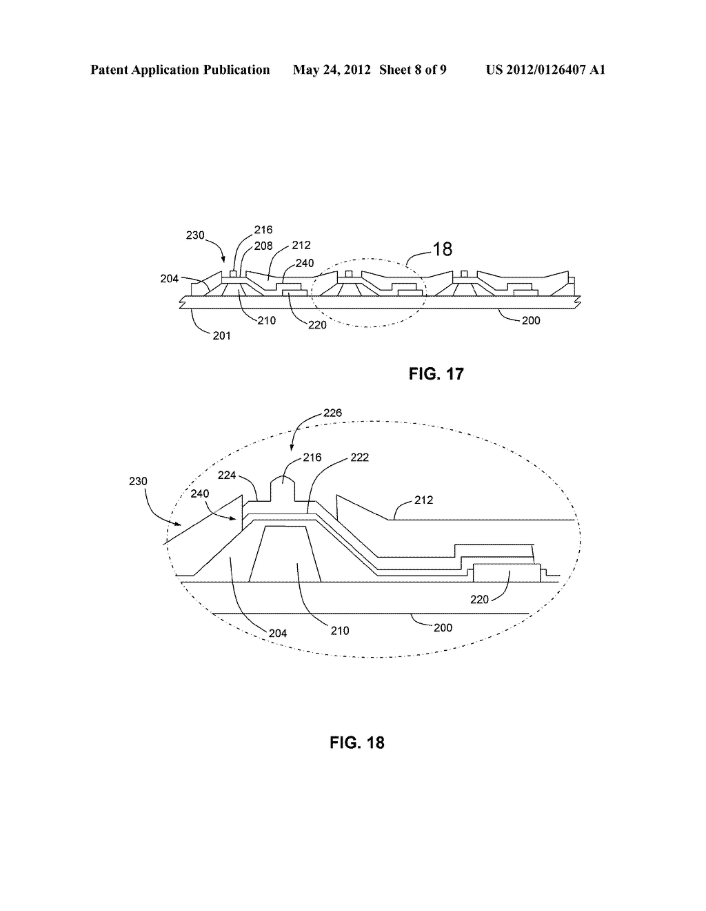 WAFER LEVEL CHIP PACKAGE AND A METHOD OF FABRICATING THEREOF - diagram, schematic, and image 09