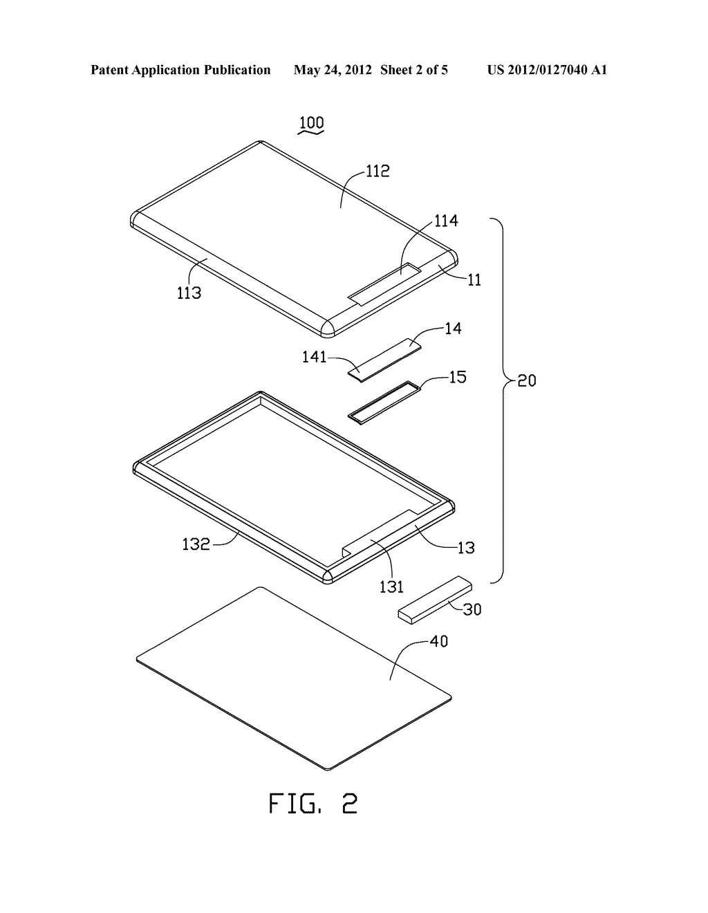 ELECTRONIC DEVICE HOUSING ASSEMBLY AND MANUFACTURING METHOD THEREOF - diagram, schematic, and image 03