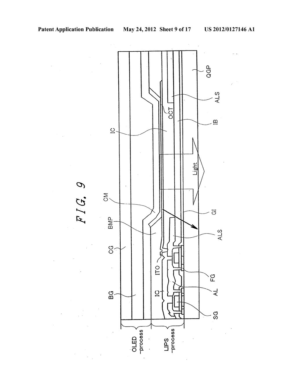 Organic Electroluminescent Light Emitting Display Device - diagram, schematic, and image 10