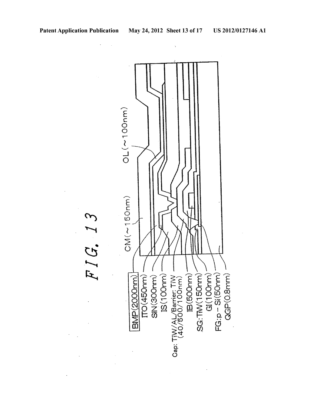 Organic Electroluminescent Light Emitting Display Device - diagram, schematic, and image 14