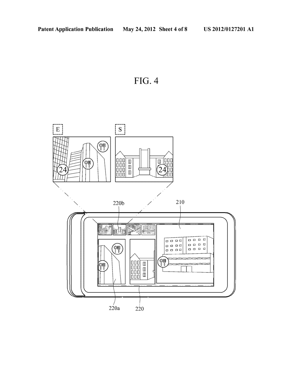 APPARATUS AND METHOD FOR PROVIDING AUGMENTED REALITY USER INTERFACE - diagram, schematic, and image 05