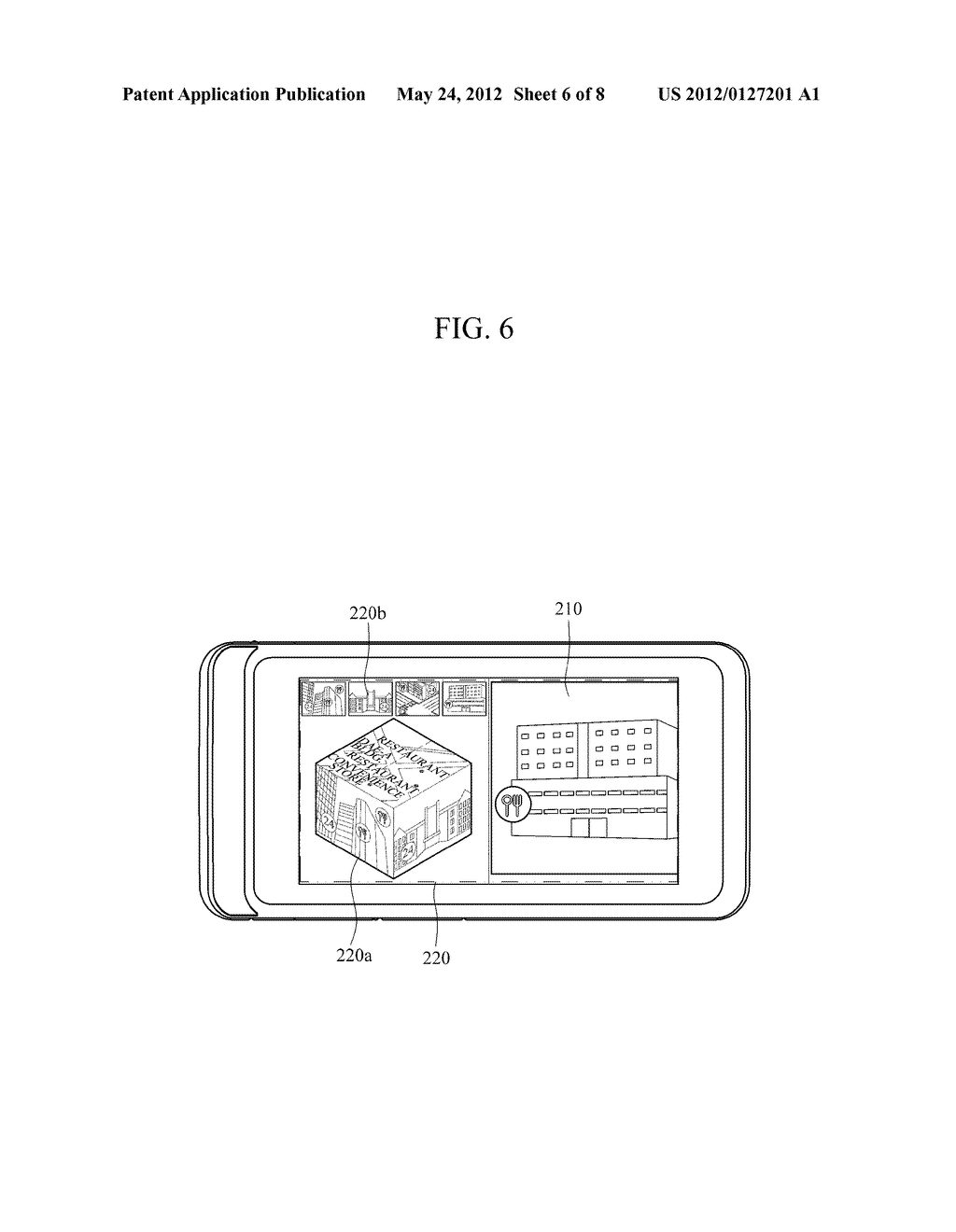 APPARATUS AND METHOD FOR PROVIDING AUGMENTED REALITY USER INTERFACE - diagram, schematic, and image 07