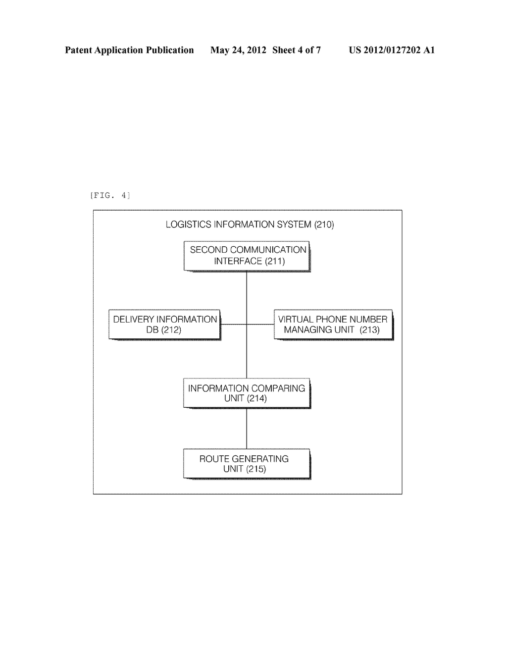SYSTEM AND METHOD FOR PROVIDING DELIVERY INFORMATION - diagram, schematic, and image 05