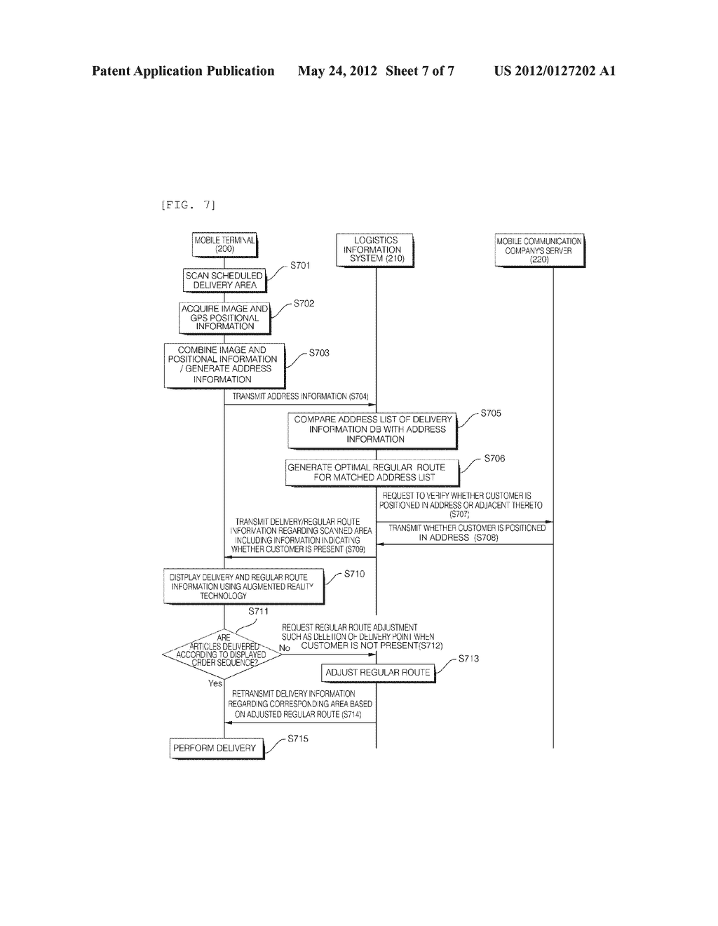 SYSTEM AND METHOD FOR PROVIDING DELIVERY INFORMATION - diagram, schematic, and image 08