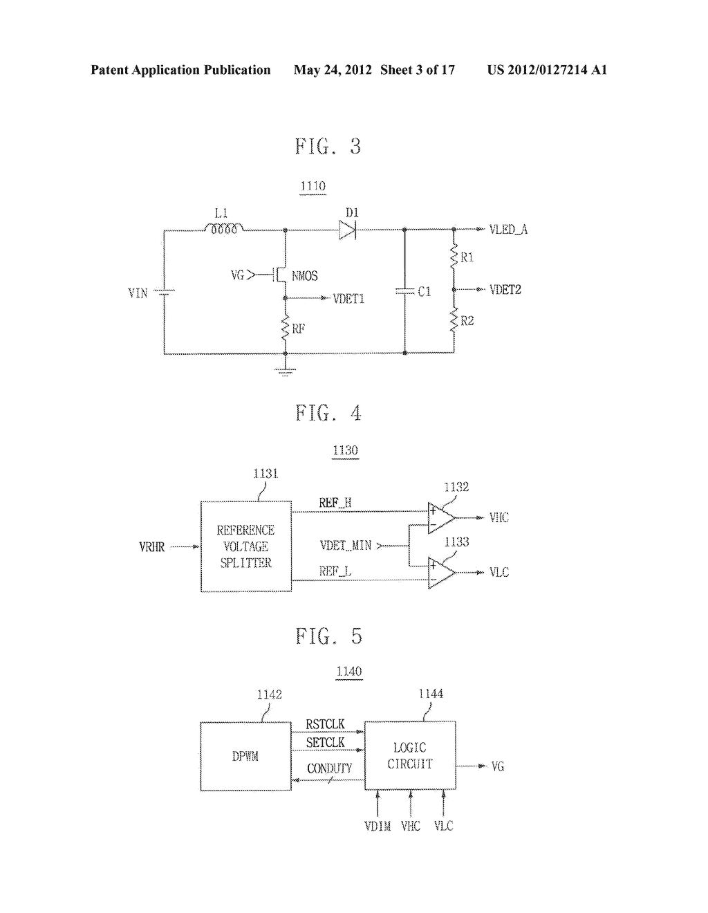 LIGHT EMITTING DIODE DRIVING CIRCUIT, AND DISPLAY DEVICE HAVING THE SAME - diagram, schematic, and image 04