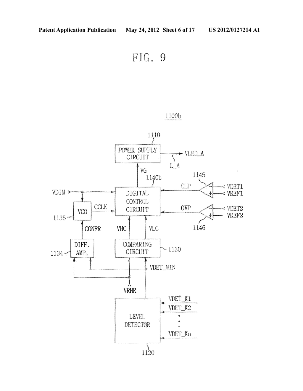 LIGHT EMITTING DIODE DRIVING CIRCUIT, AND DISPLAY DEVICE HAVING THE SAME - diagram, schematic, and image 07