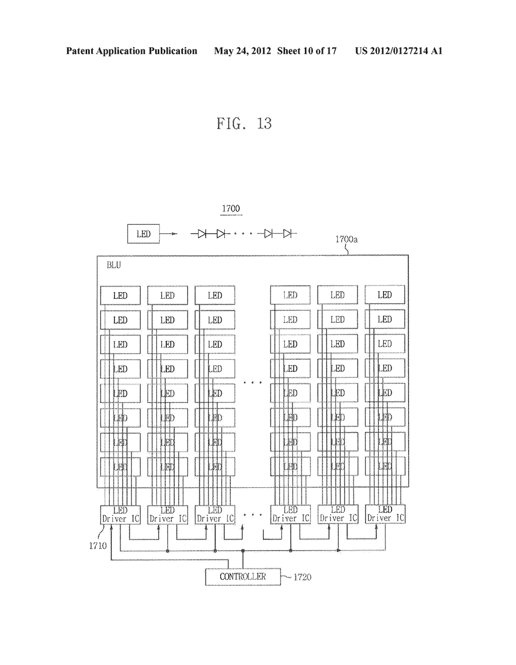 LIGHT EMITTING DIODE DRIVING CIRCUIT, AND DISPLAY DEVICE HAVING THE SAME - diagram, schematic, and image 11