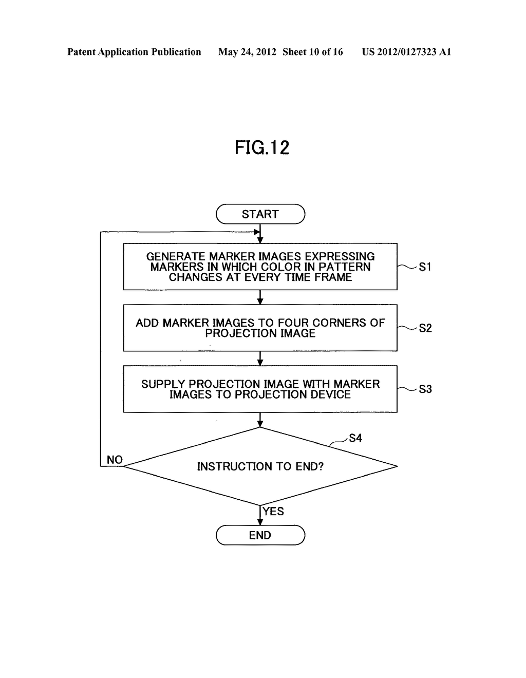 PROJECTION IMAGE AREA DETECTING DEVICE - diagram, schematic, and image 11