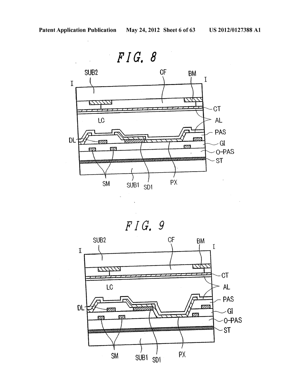 Liquid Crystal Display Device, Display Device and Manufacturing Method     Thereof - diagram, schematic, and image 07