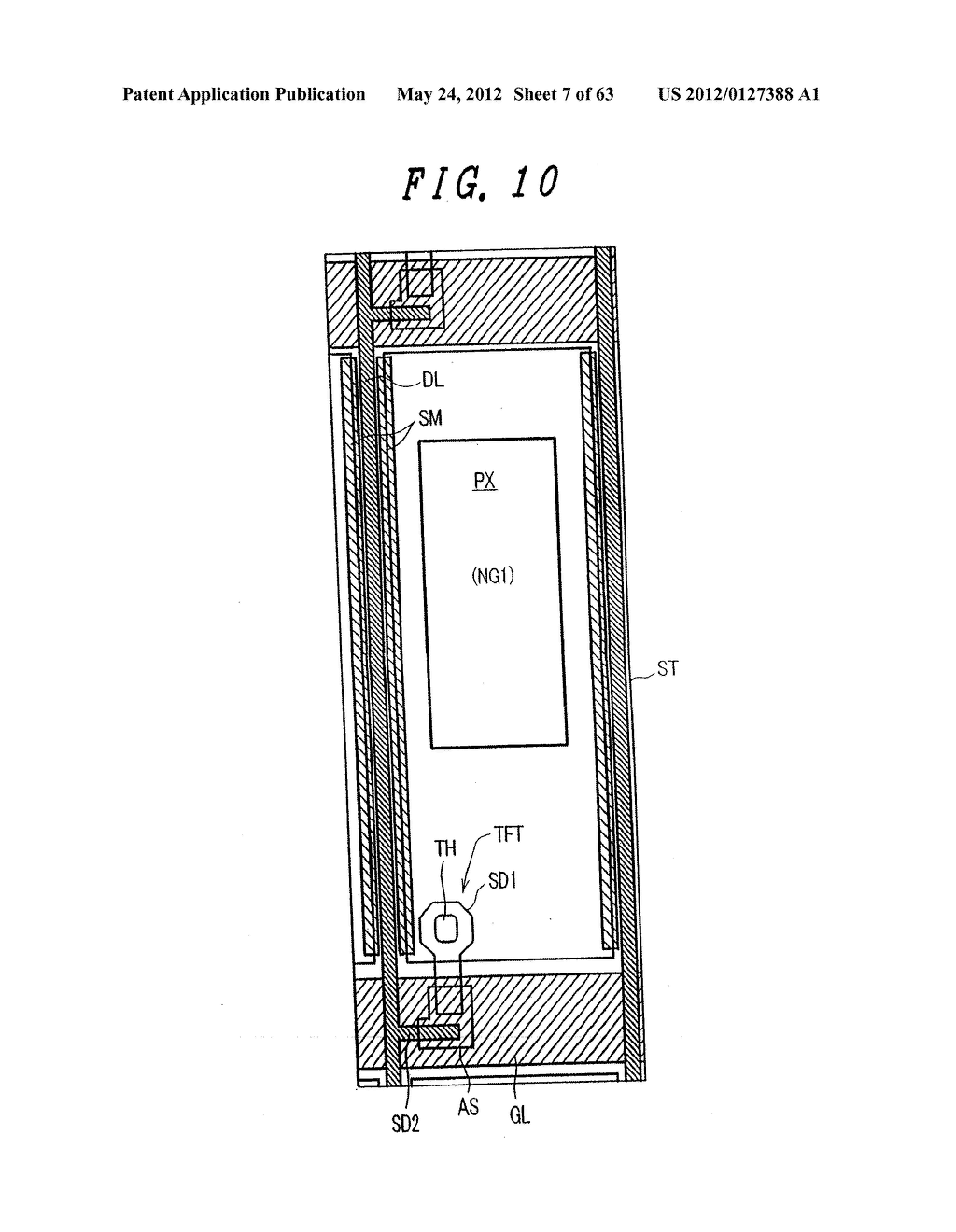 Liquid Crystal Display Device, Display Device and Manufacturing Method     Thereof - diagram, schematic, and image 08