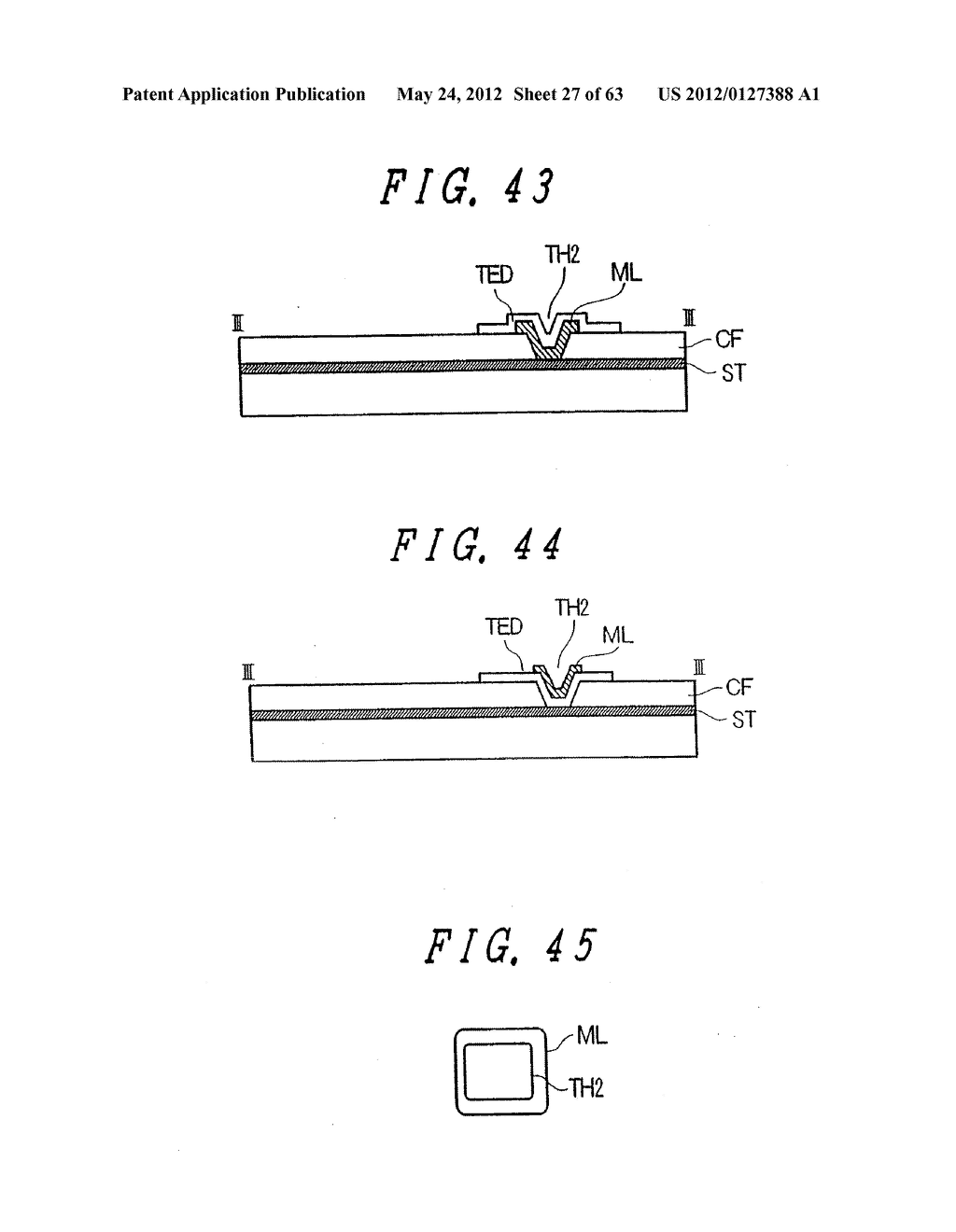 Liquid Crystal Display Device, Display Device and Manufacturing Method     Thereof - diagram, schematic, and image 28