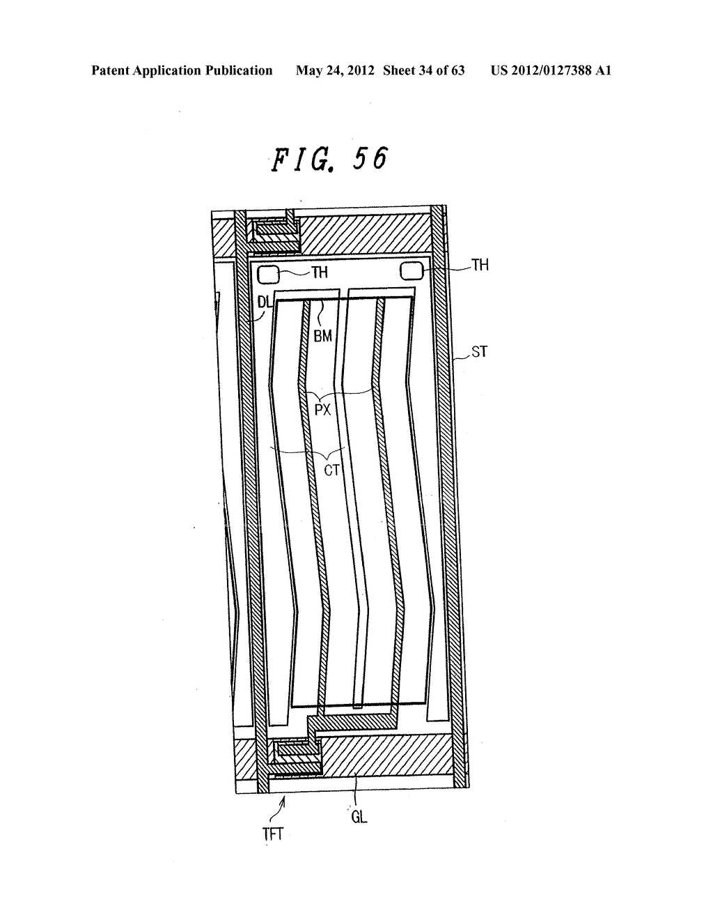 Liquid Crystal Display Device, Display Device and Manufacturing Method     Thereof - diagram, schematic, and image 35