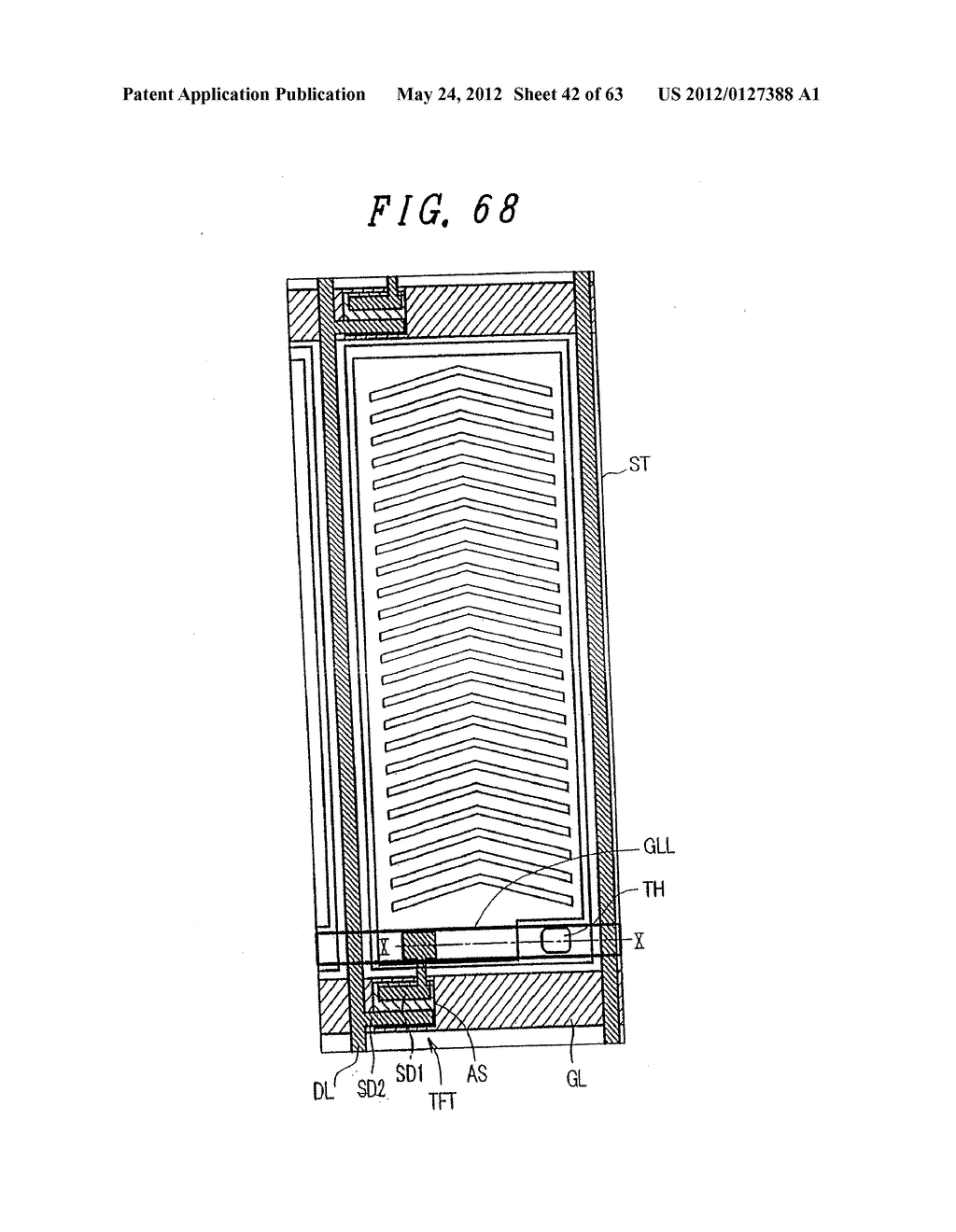 Liquid Crystal Display Device, Display Device and Manufacturing Method     Thereof - diagram, schematic, and image 43