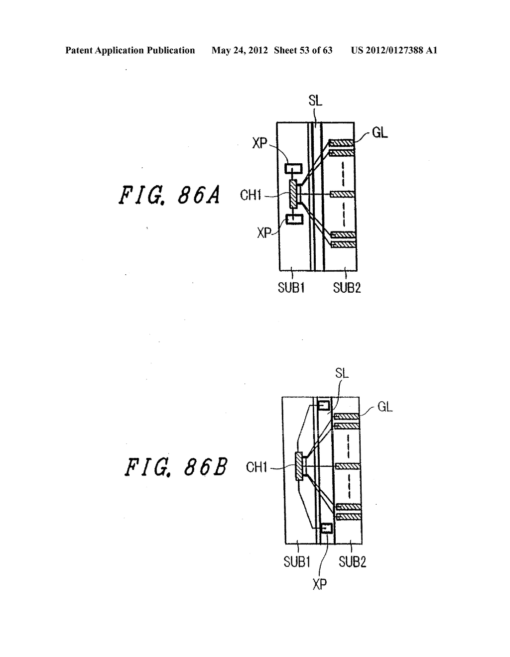 Liquid Crystal Display Device, Display Device and Manufacturing Method     Thereof - diagram, schematic, and image 54
