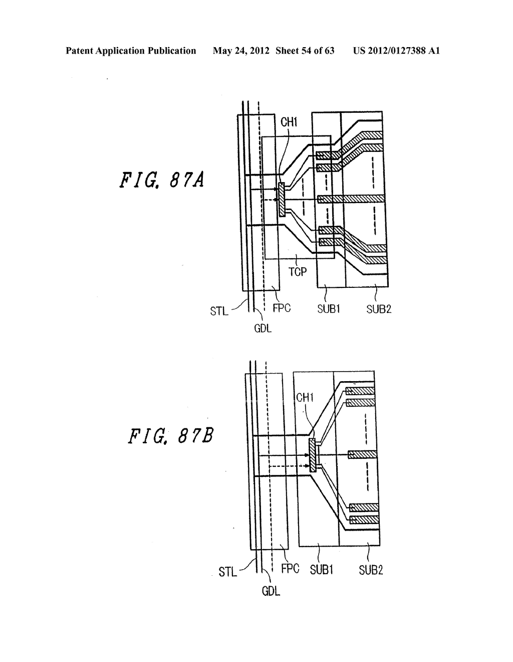 Liquid Crystal Display Device, Display Device and Manufacturing Method     Thereof - diagram, schematic, and image 55