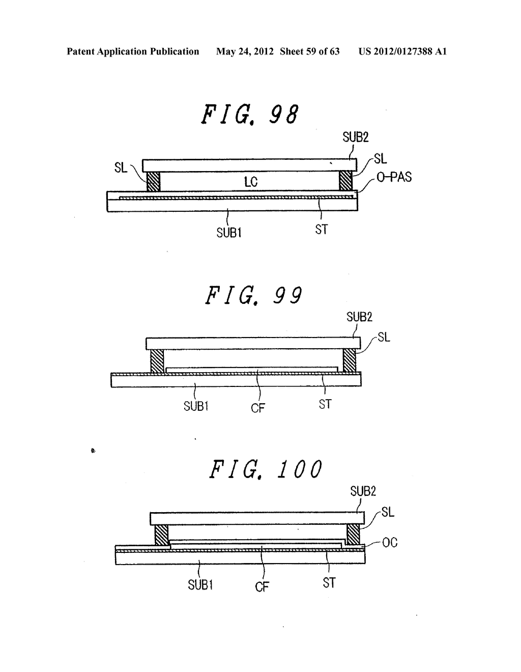 Liquid Crystal Display Device, Display Device and Manufacturing Method     Thereof - diagram, schematic, and image 60