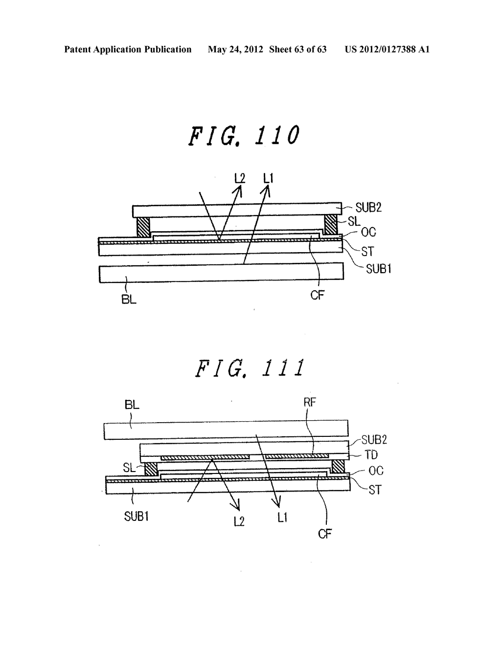 Liquid Crystal Display Device, Display Device and Manufacturing Method     Thereof - diagram, schematic, and image 64