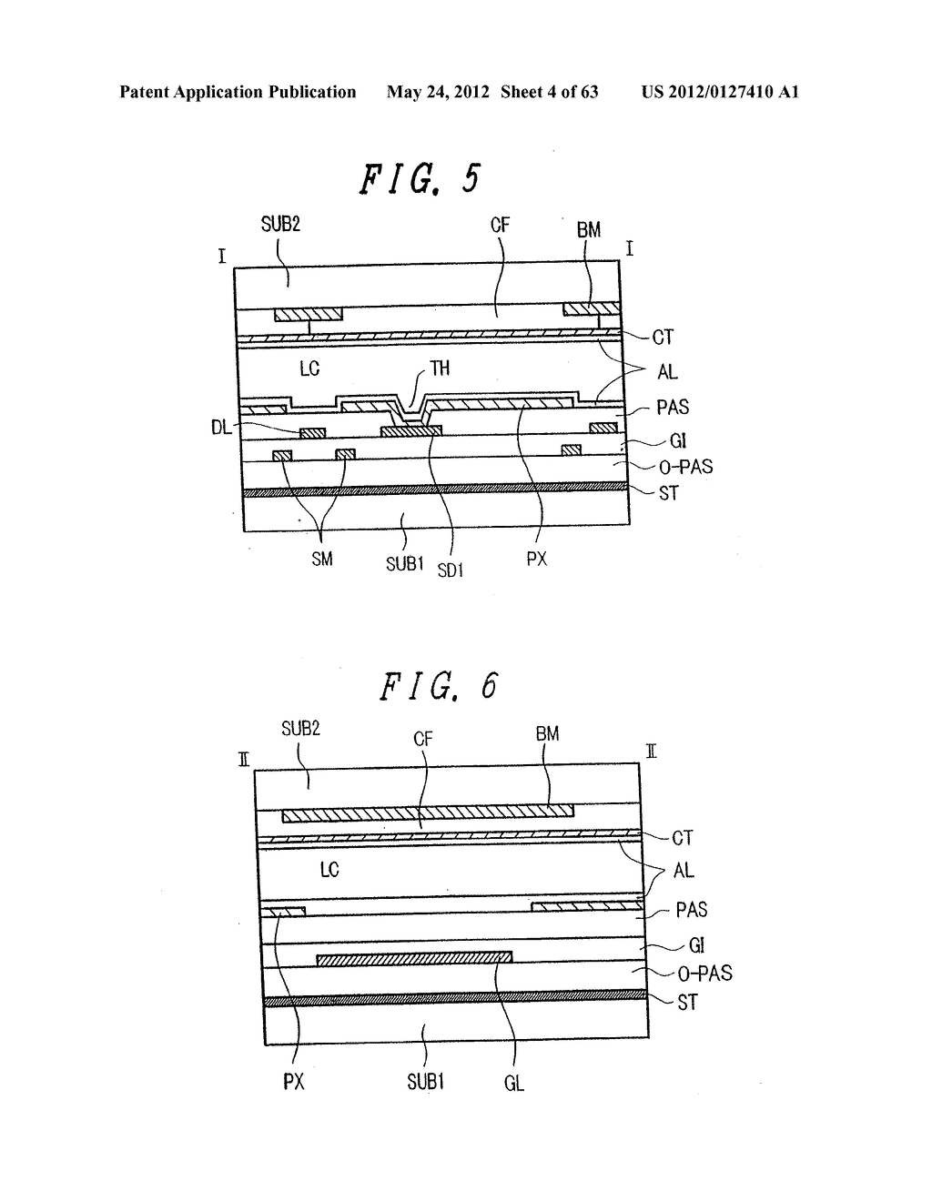 LIQUID CRYSTAL DISPLAY DEVICE, DISPLAY DEVICE AND MANUFACTURING METHOD     THEREOF - diagram, schematic, and image 05