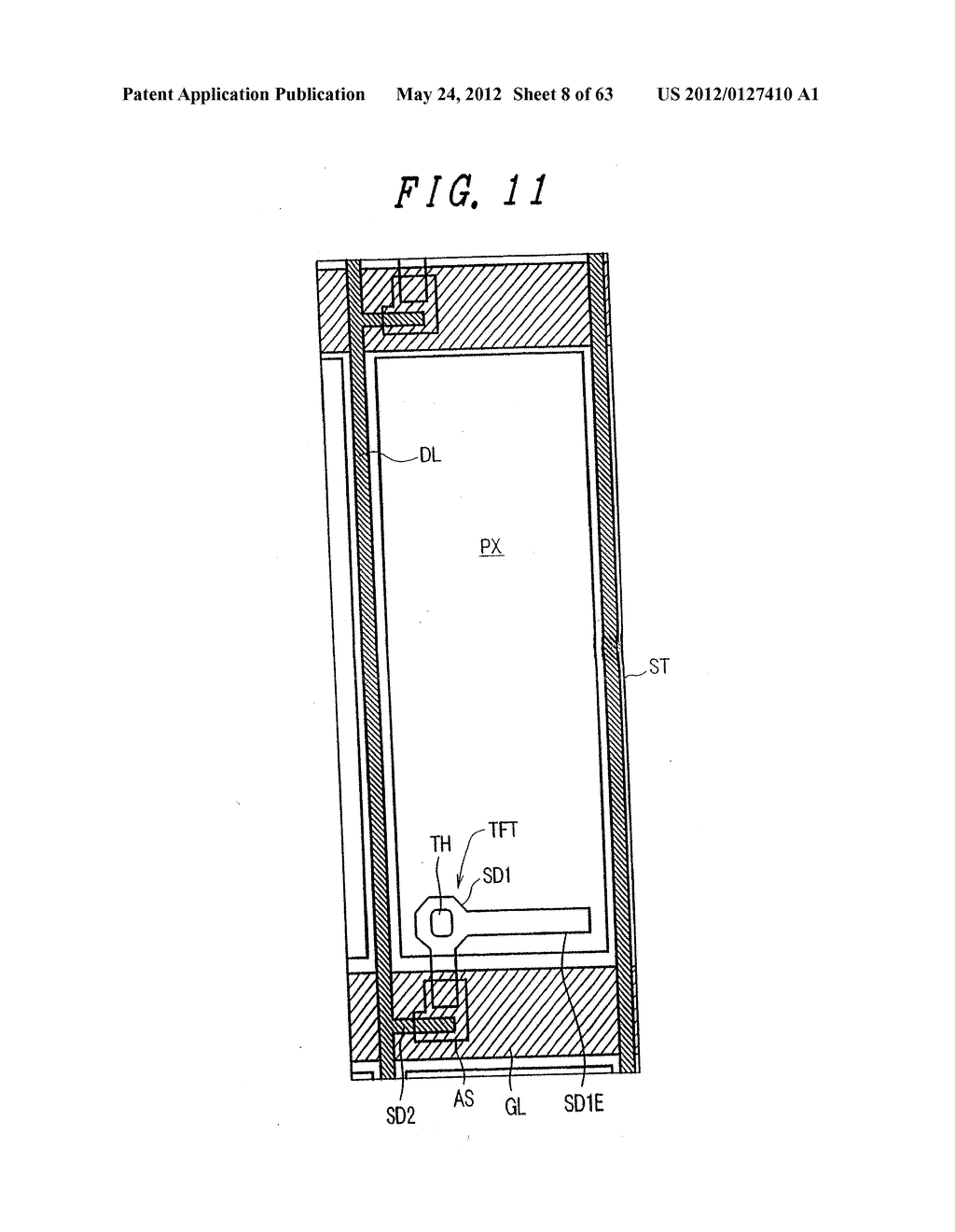 LIQUID CRYSTAL DISPLAY DEVICE, DISPLAY DEVICE AND MANUFACTURING METHOD     THEREOF - diagram, schematic, and image 09