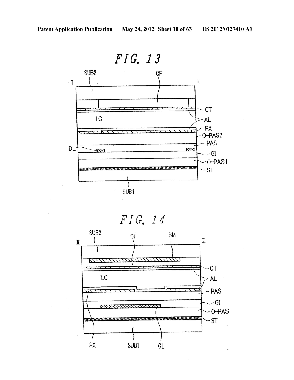 LIQUID CRYSTAL DISPLAY DEVICE, DISPLAY DEVICE AND MANUFACTURING METHOD     THEREOF - diagram, schematic, and image 11