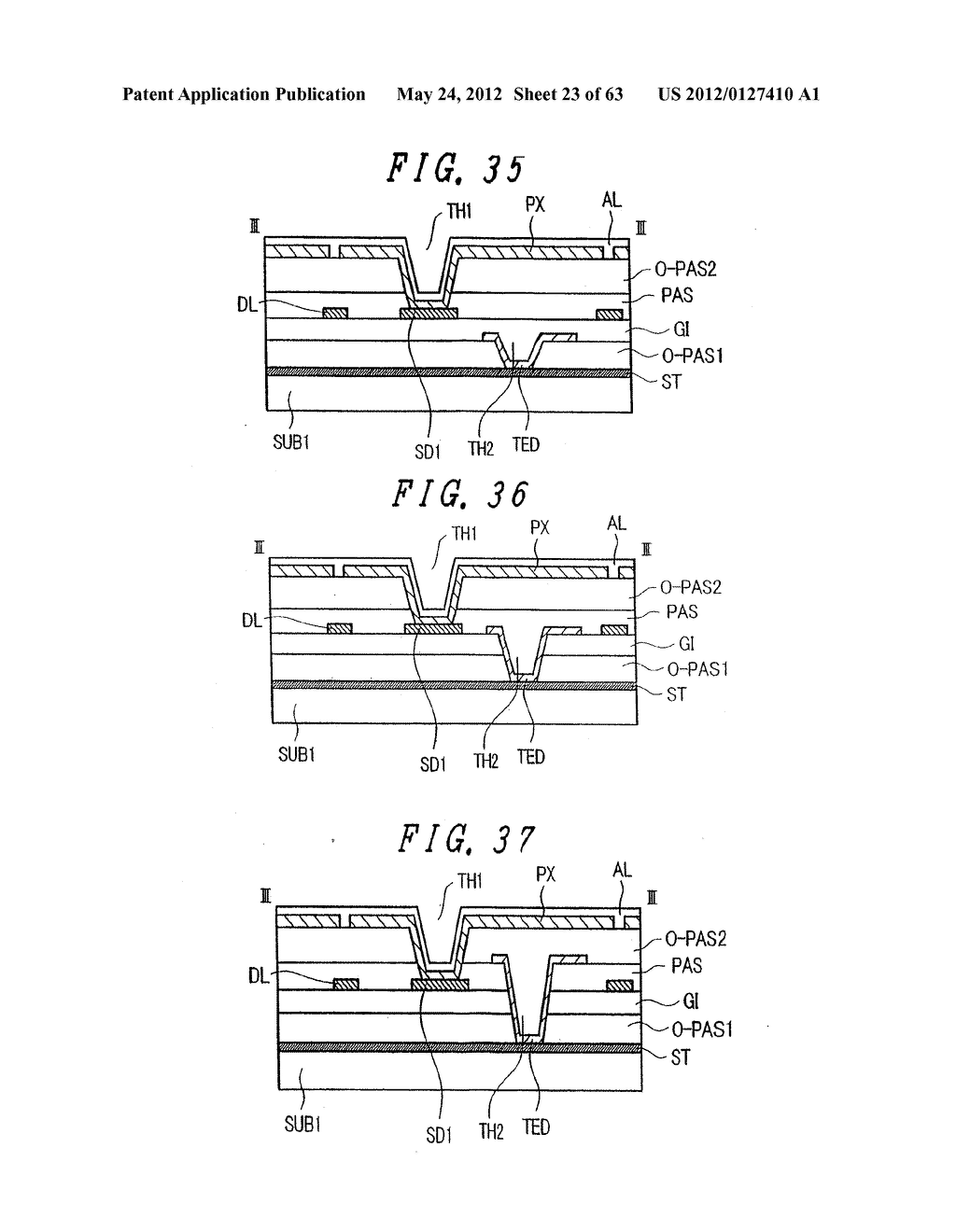 LIQUID CRYSTAL DISPLAY DEVICE, DISPLAY DEVICE AND MANUFACTURING METHOD     THEREOF - diagram, schematic, and image 24