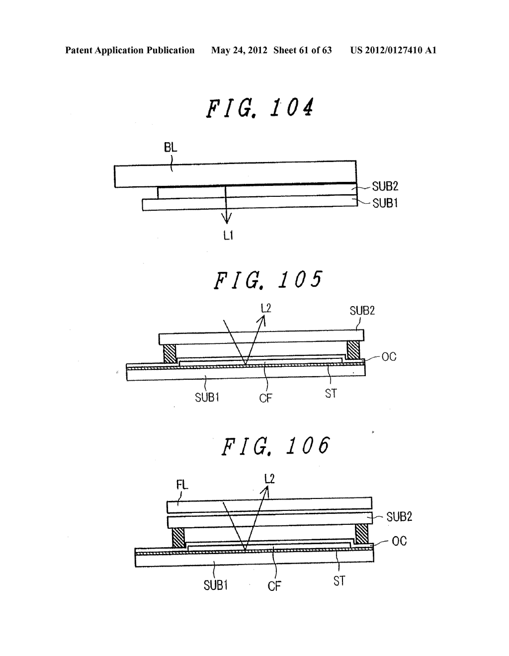 LIQUID CRYSTAL DISPLAY DEVICE, DISPLAY DEVICE AND MANUFACTURING METHOD     THEREOF - diagram, schematic, and image 62
