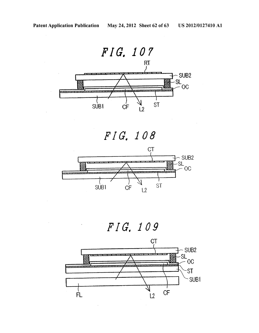 LIQUID CRYSTAL DISPLAY DEVICE, DISPLAY DEVICE AND MANUFACTURING METHOD     THEREOF - diagram, schematic, and image 63